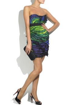 Diane von FurstenbergJosun strapless mini dress