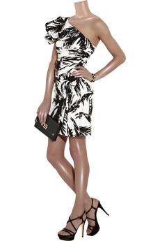 Diane von FurstenbergCarmona one-shoulder dress