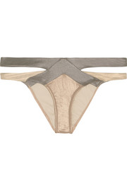 Mazzy Metals cutout bikini briefs