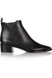 Jensen leather ankle boots