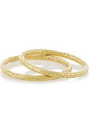Set of two 18-karat gold rings