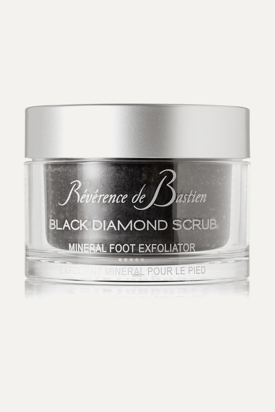 REVERENCE DE BASTIEN Black Diamond Scrub Foot Exfoliant, 200ml
