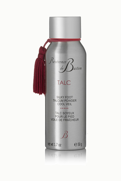 REVERENCE DE BASTIEN Silky Foot Talcum Powder, 50G - Colorless
