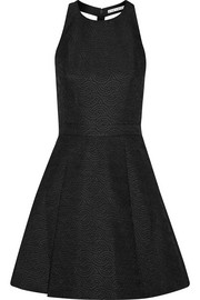 Danie cutout jacquard mini dress