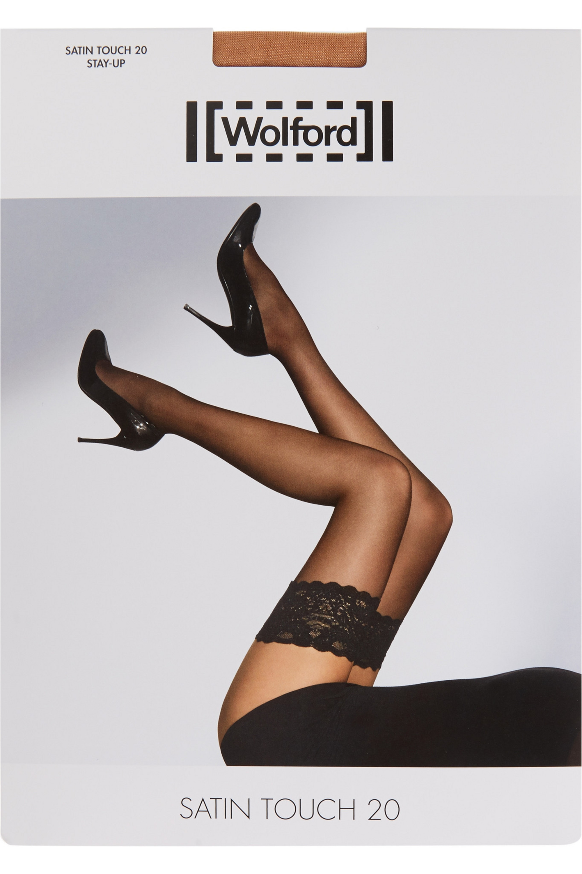 Wolford Satin Touch 20 denier stay-up stockings