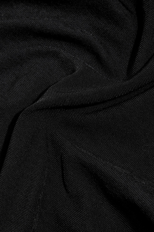 Black Jamaika Stretch-jersey Bodysuit | Wolford