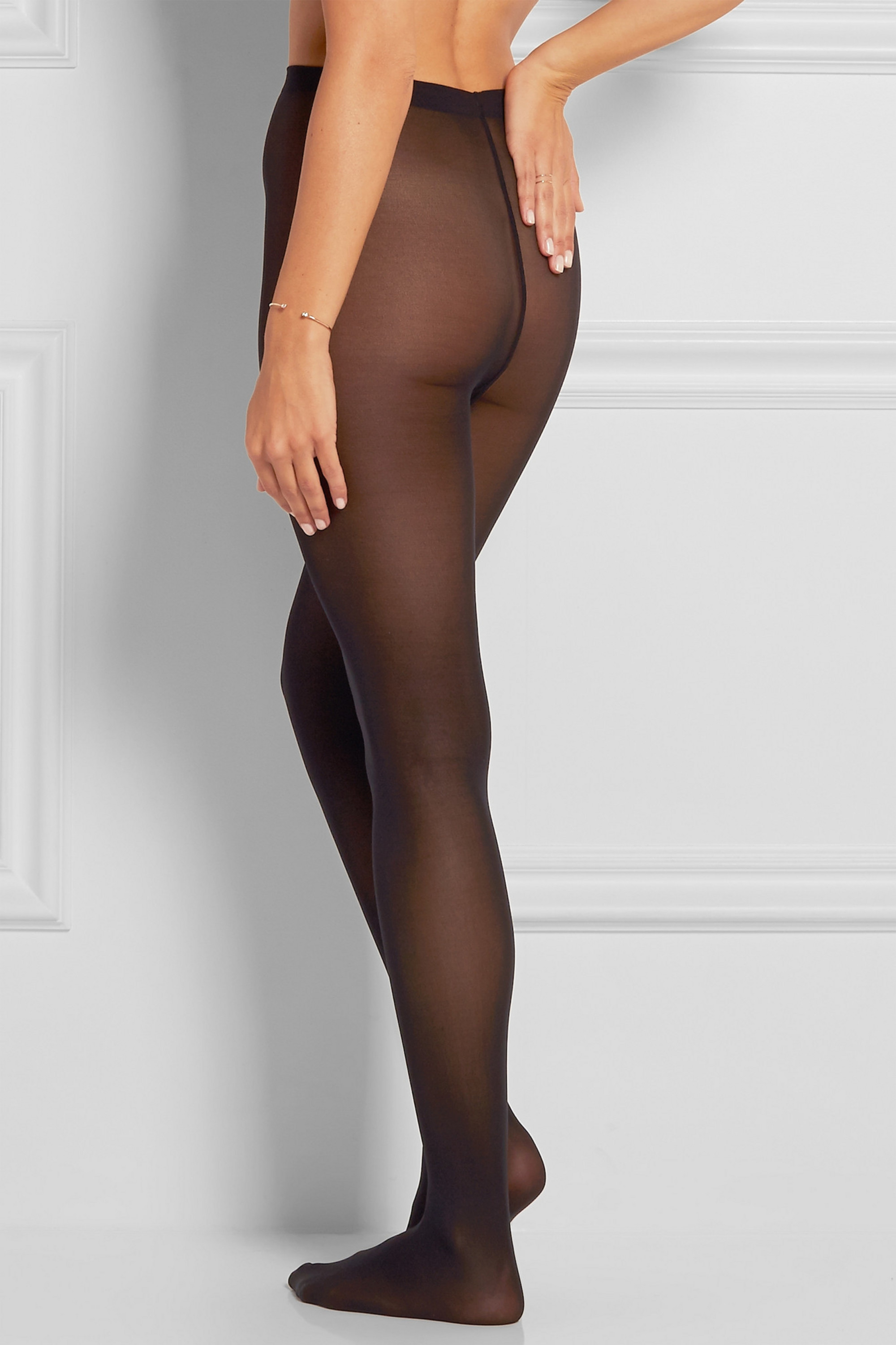 Wolford Set of two Velvet de Luxe 50 denier tights