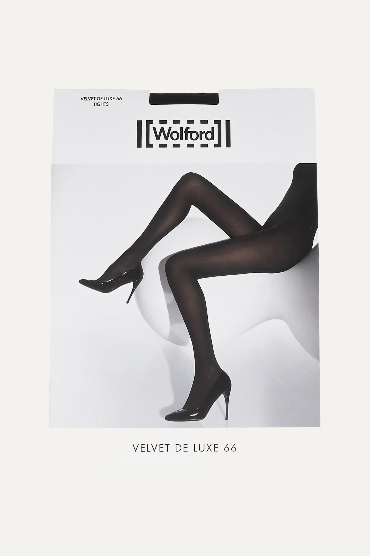 Wolford Set of two Velvet de Luxe 66 denier tights