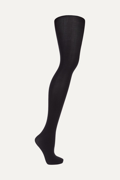 143dc171f Wolford Set Of Two Velvet De Luxe 66 Denier Tights In Llack ...