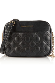 Voyage Gemini quilted leather shoulder bag