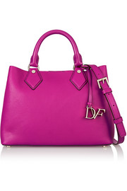 Diane von Furstenberg Voyage On-the-Go leather tote