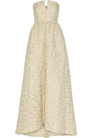 Alice + Olivia Axmis jacquard gown