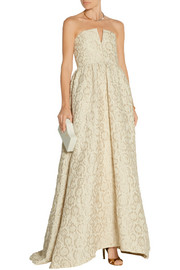 Axmis jacquard gown