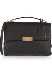 Le Dix small textured-leather shoulder bag