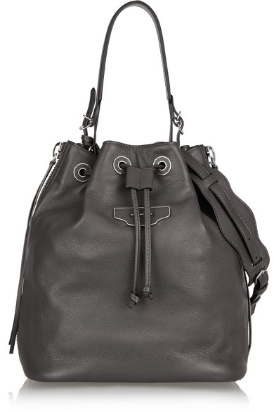 Balenciaga. Papier Plate leather bucket bag 47061690b8593