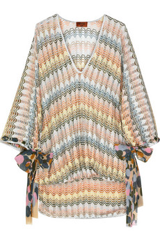 MissoniBrindisi Lurex-knit kaftan