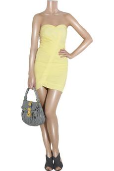 Alice + Olivia Ruched mini dress