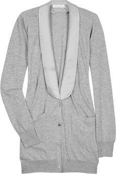 Paul & JoeTuxedo-style buttoned cardigan