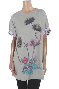 Paul & JoeFlamingo T-shirt dress
