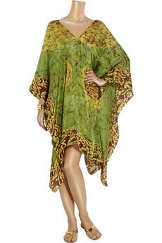 Lotta StenssonTie-dyed silk poncho