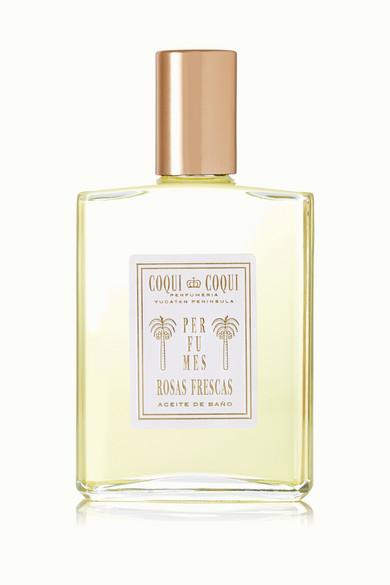 COQUI COQUI Rosas Frescas Bath Oil, 100Ml - Colorless