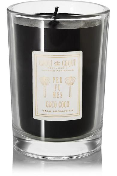 COQUI COQUI Orange Blossom Scented Candle, 227G in Black