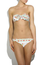 ZimmermannRuffle floral print bikini