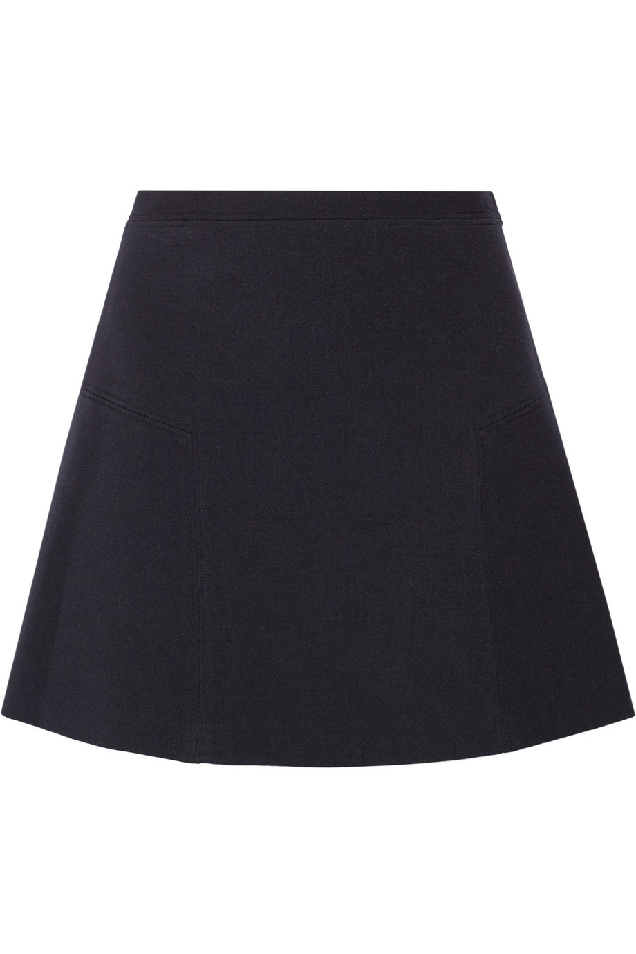 Crepe Mini Skirt, Michael Michael Kors, Midnight Blue, Women's, Size: 8