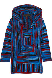 Baja hooded cashmere sweater