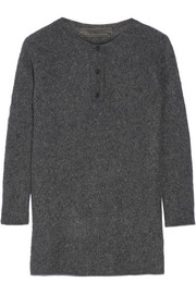 The Elder Statesman Effa oversized cashmere and silk-blend sweater