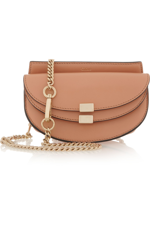Chloé Georgia convertible leather belt bag