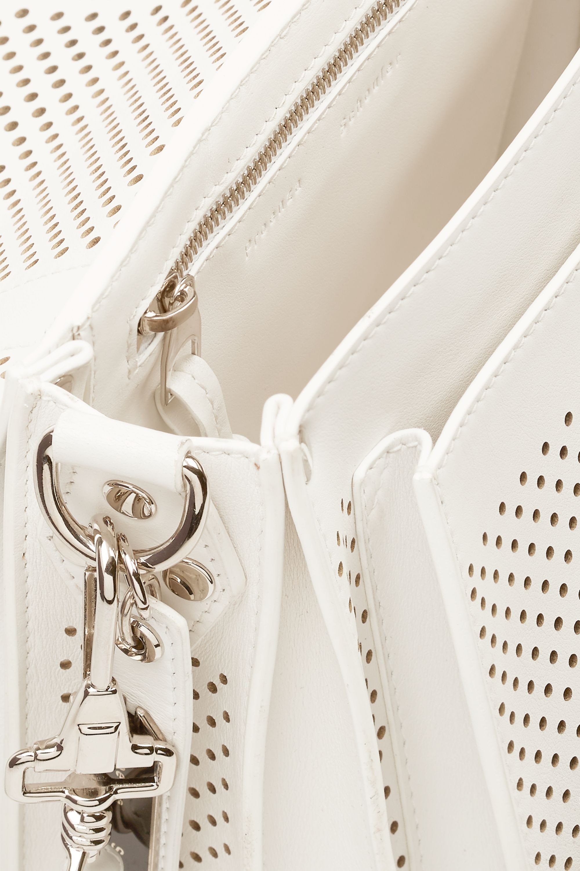 Proenza Schouler PS1 perforated leather satchel