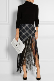 Proenza Schouler The Lunch Bag large perforated leather clutch