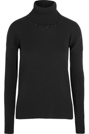 Vetements Ribbed-knit turtleneck sweater