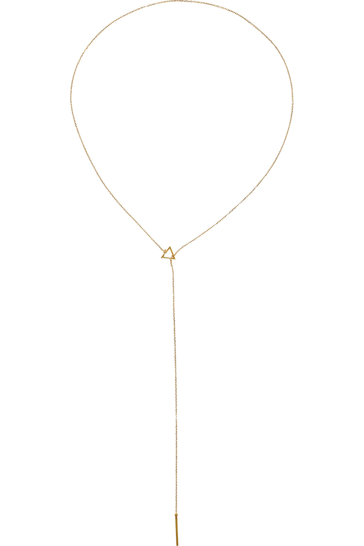 Maria Black Fine Jewelry Sarah Kette aus 18 Karat Gold mit Diamanten