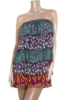 Antik Batik | Strapless silk-chiffon mini dress | NET-A-PORTER.COM from net-a-porter.com
