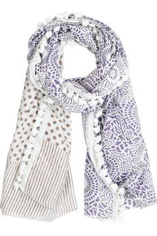 Antik Batik|Bonita silk-blend scarf|NET-A-PORTER.COM from net-a-porter.com