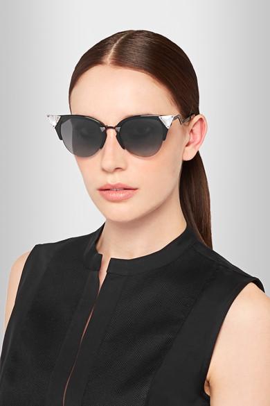 51d68b967ecd9 Fendi Cat Eye Sunglasses Iridia