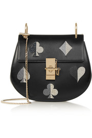 Drew small embellished leather shoulder bag