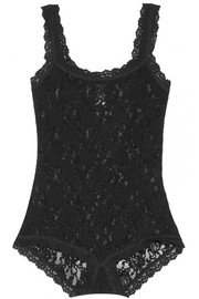 Signature stretch-lace bodysuit
