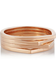 18-karat rose gold ring