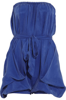 By Malene Birger Pereire strapless playsuit