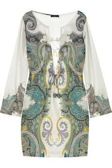 Etro|Cotton paisley print tunic|NET-A-PORTER.COM from net-a-porter.com