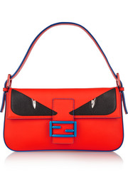 Fendi Bag Bugs Baguette leather shoulder bag