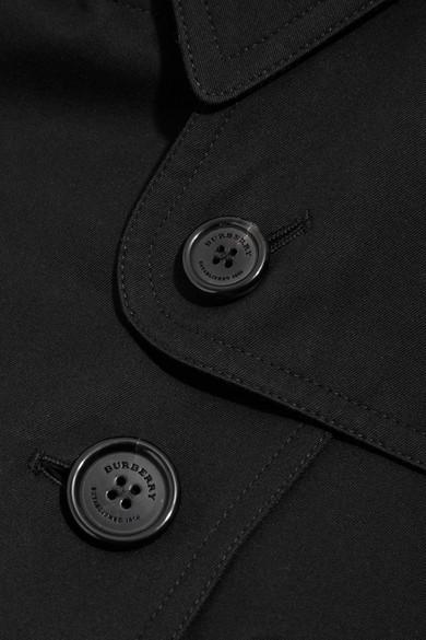 Burberry Sandringham mittellanger Trenchcoat aus Baumwoll-Gabardine