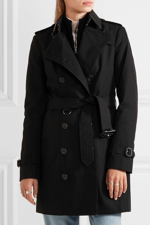 Burberry The Sandringham Mid cotton-gabardine trench coat