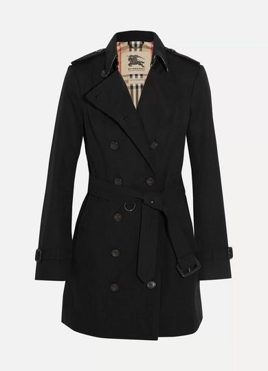 burberry the sandringham mid cotton gabardine trench coat. Black Bedroom Furniture Sets. Home Design Ideas