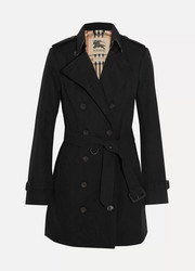 The Sandringham Mid cotton-gabardine trench coat