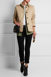 Burberry Brit Quilted shell jacket