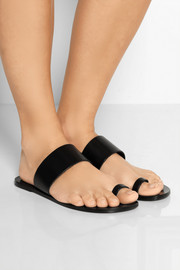 Astrid leather slides
